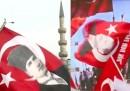 Турция в знамена, Ердоган срещу Ататюрк