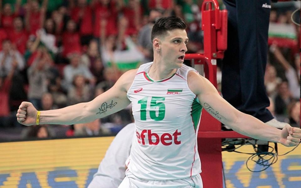 Алексиев с успех срещу Учиков във волейболното първенство на Аржентина