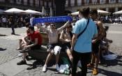 Осъдиха фенове на Лестър, били се в Мадрид