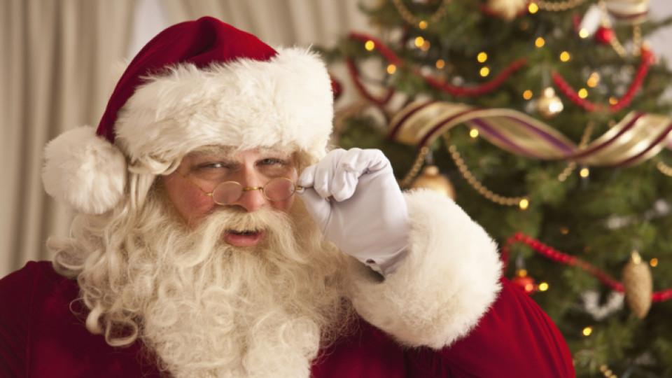 Дядо Коледа събира пари за благотворителност