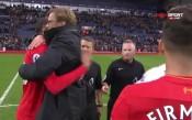 Луда радост за Юрген Клоп след успеха на Ливърпул