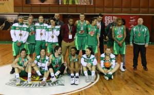 Берое взе бронза в женското баскетболно първенство