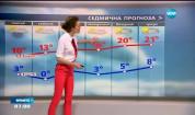 Прогноза за времето (21.04.2017 - сутрешна)