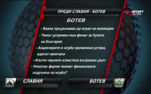 Преди Славия - Ботев Пд