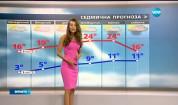 Прогноза за времето (23.04.2017 - централна емисия)