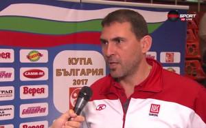 И двамата треньори доволни след успеха на Нафтата над Черно море