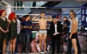 Официалното претегляне преди боксовата галавечер в София<strong> източник: LAP.bg</strong>