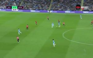 Манчестър Сити - Манчестър Юнайтед 0:0 /първо полувреме/