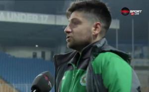 Божинов: Ще направим, каквото трябва Нефтохимик да остане в Първа лига