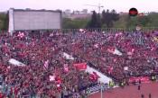 Стадионът се вълнува за дербито Левски-ЦСКА