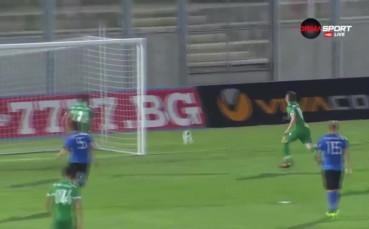 Лудогорец - Черно море 4:0, Първа лига, 30-и кръг