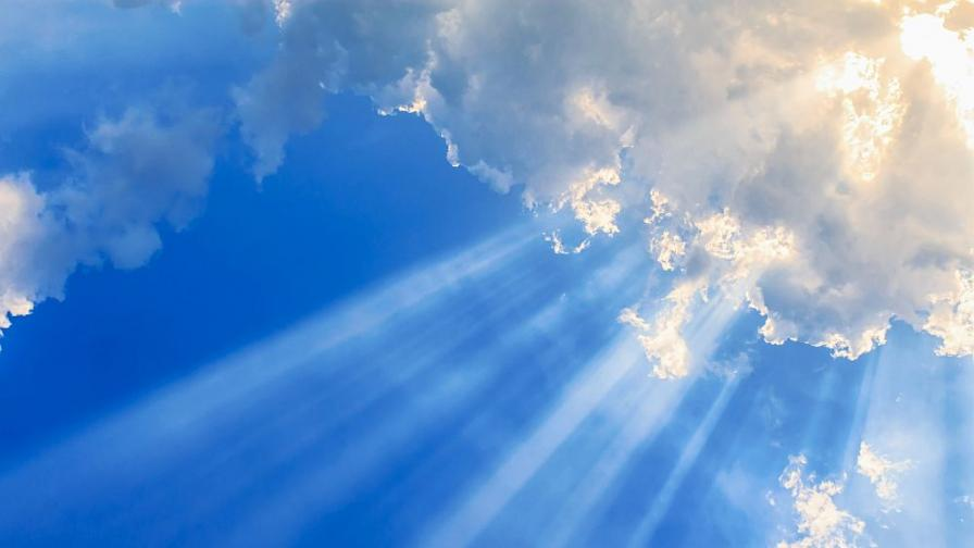 Повече слънце в неделя, какво време ни очаква през новата седмица