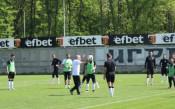 Локо Пловдив тренира на пълни обороти за Лудогорец