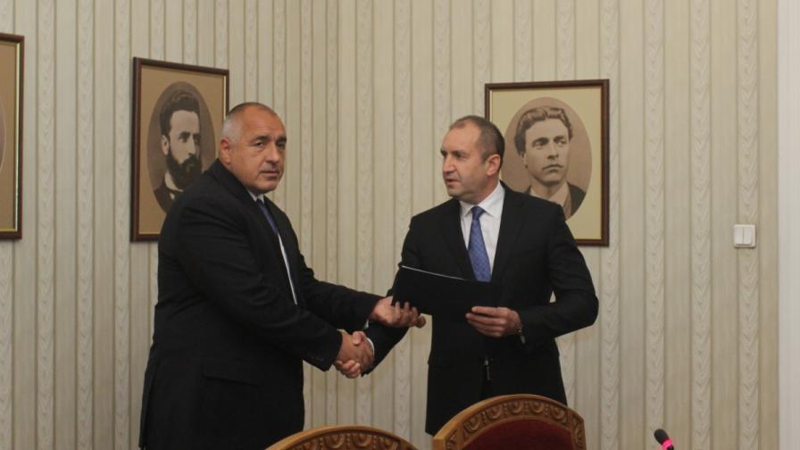 Борисов разговаря с Радев за мерките срещу коронавируса
