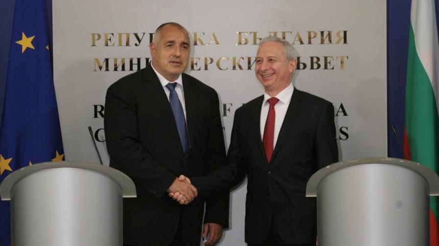 Бойко Борисов и Огнян Герджиков