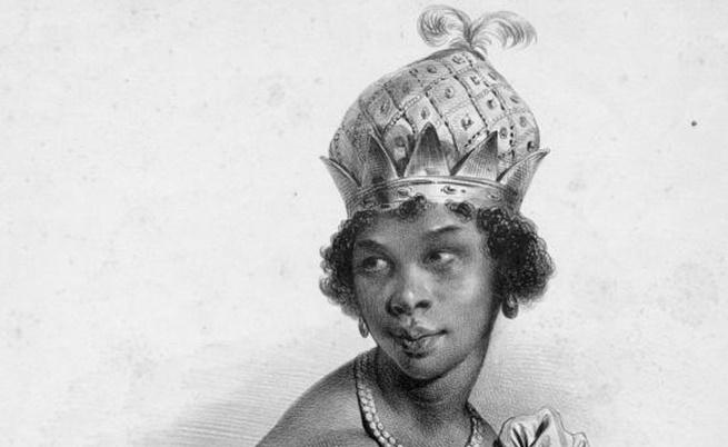 Нзинга - една изключителна африканска владетелка, сломила португалците през XVII в.