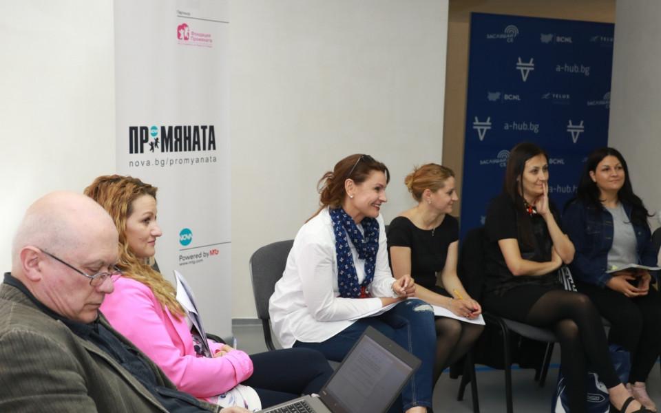 NOVA проведе първото медийно обучение за социални предприемачи в България