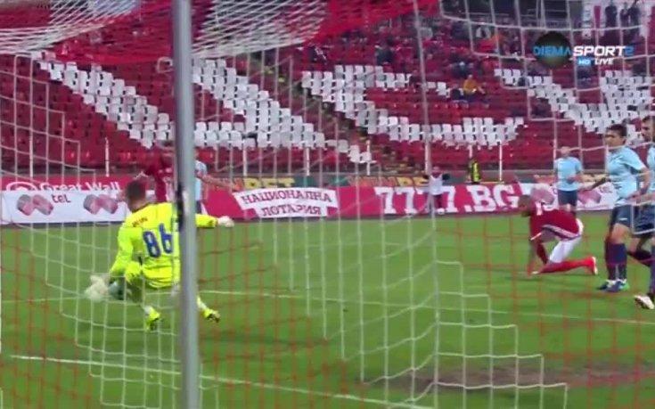 Станислав Антонов с впечатлящави спасявания срещу ЦСКА