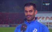 Веселин Великов: ЦСКА ни надигра в по-голямата част от мача