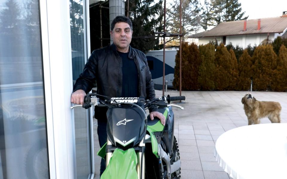 Световният шампион в мотокроса Рангелов навършва 60