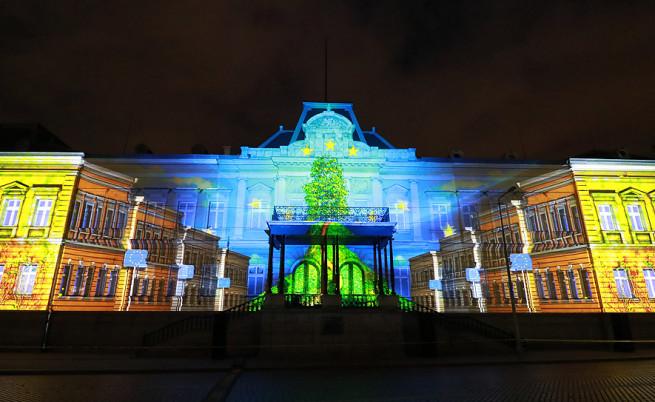 Уникалното шоу, което преобрази известна сграда в София
