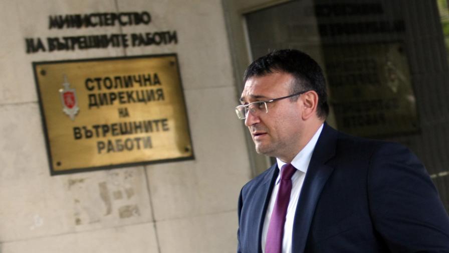 Новият главен секретар на МВР Младен Маринов