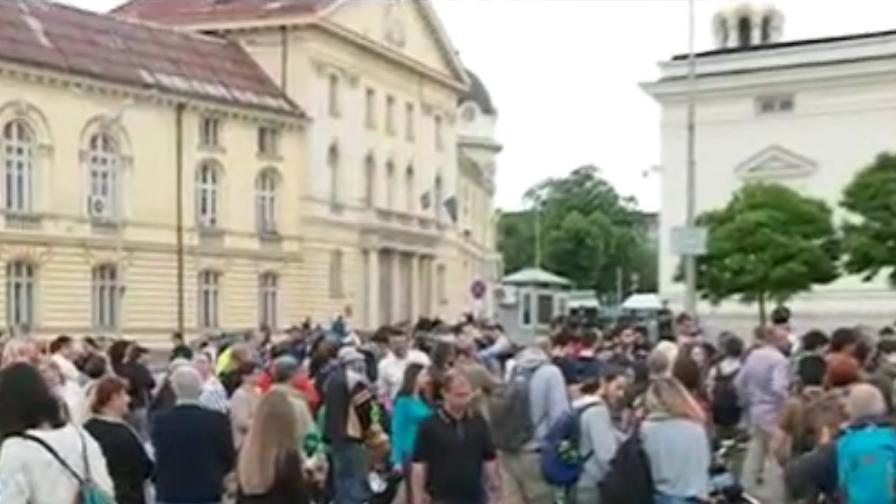 Протест срещу застрояването по морето блокира центъра