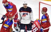 САЩ излъга Русия в сблъсък на титани в световния хокей
