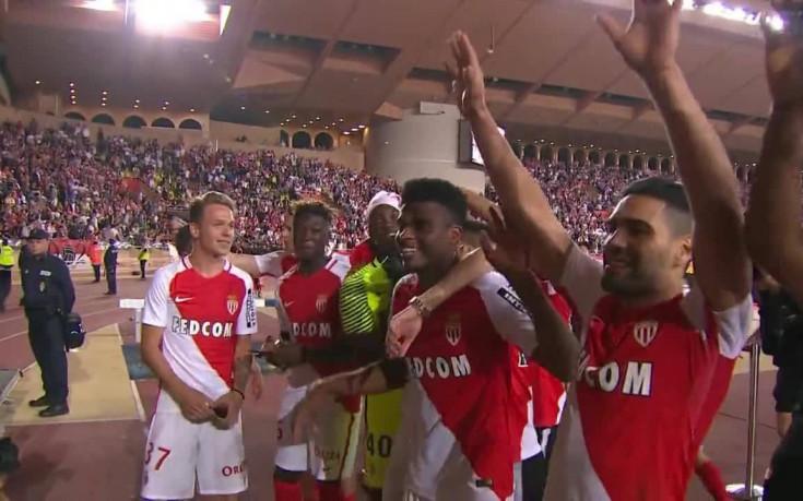 Монако празнува осма титла във Франция
