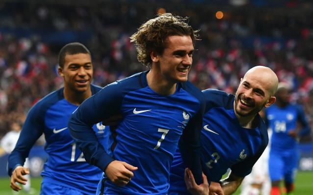 Усмивката на Антоан Гризман бързо помръкна след прегледа на повторението<strong> източник: Gulliver/Getty Images</strong>