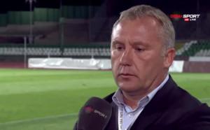 Киров: Чак паника нямаше, сега Ботев мисли за финала в Купата