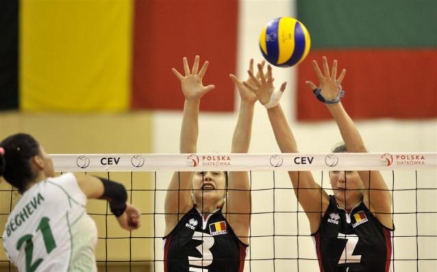 България - Белгия 0:3<strong> източник: volleyball.bg</strong>