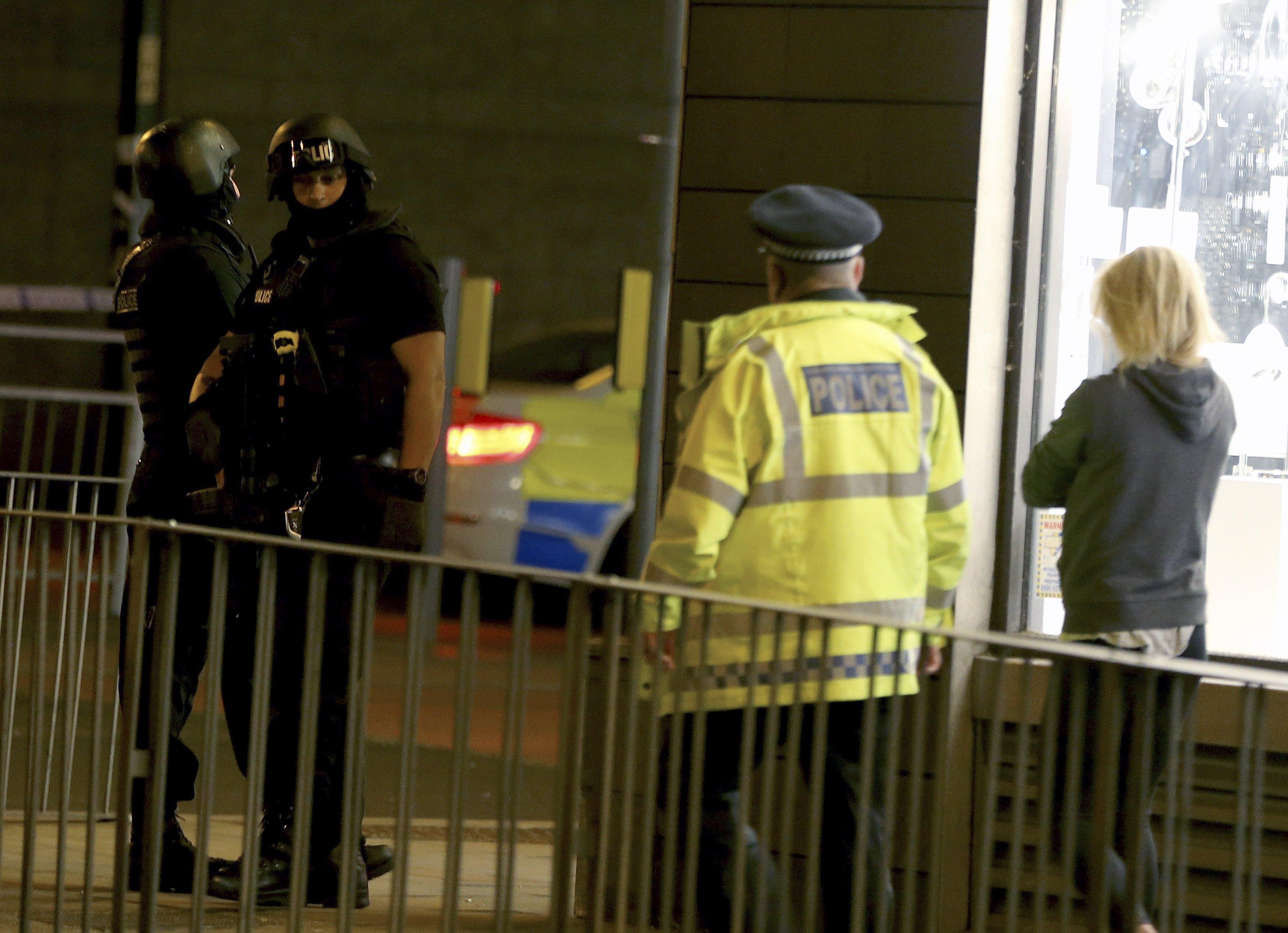 """Ето как изглеждаше английския град след взрива в """"Манчестър Арена"""""""