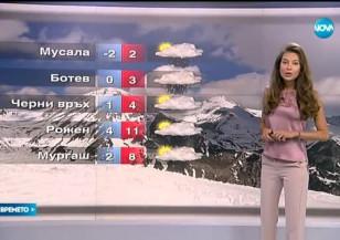 Прогноза за времето (23.05.2016 - централна емисия)