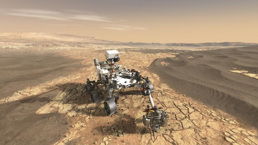 Новият марсоход на НАСА