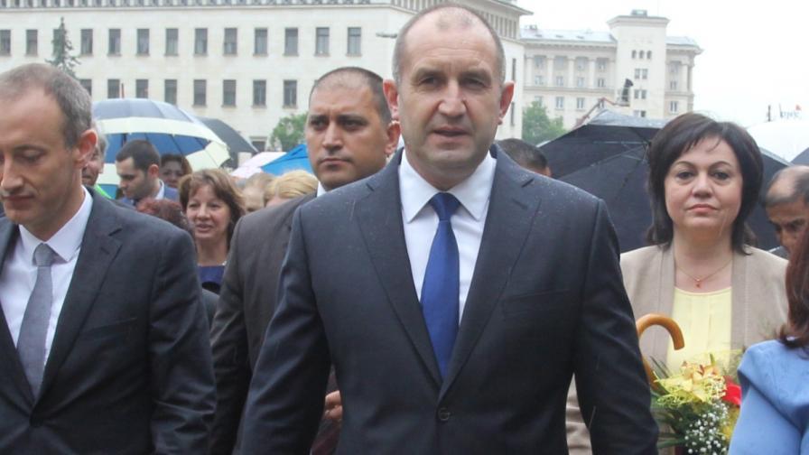 Българският президент Румен Радев