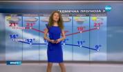 Прогноза за времето (24.05.2017 - обедна емисия)