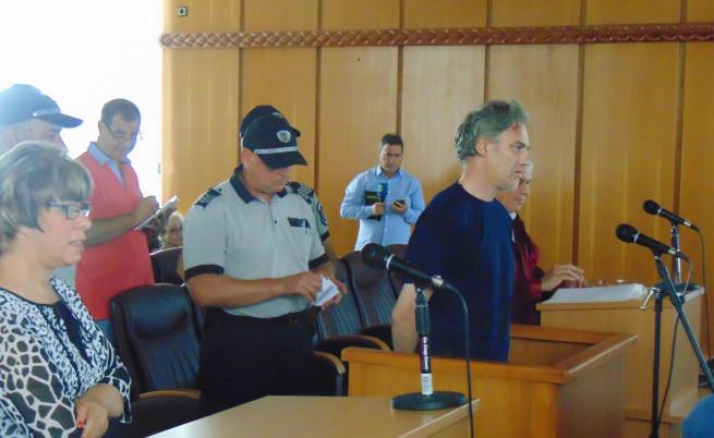 Любомир Данчев при началото на процеса срещу него през септември 2016г.