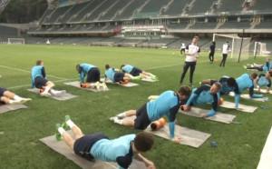 Тотнъм тренира преди приятелска среща в Хонг Конг