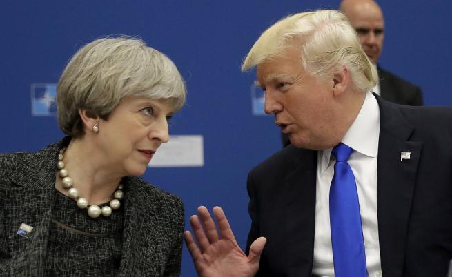 Тръмп посъветвал Тереза Мей да съди ЕС заради Брекзит