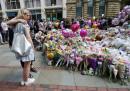 """Мемориал от цвета издигнаха хората на пл. """"Св. Ан"""", в близост до """"Манчестър Арена"""""""