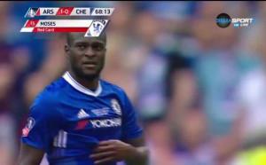 Глупав червен картон вместо дузпа за Челси
