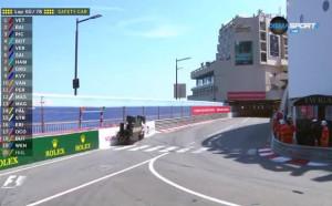 Зрелищна каскада на Верлайн в Гран При на Монако