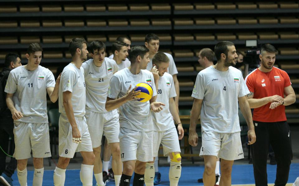 България с категорична победа над Китай във Варна