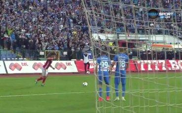 Вторият гол на Симао срещу Левски