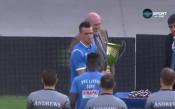 Наградиха Левски за третото място в Първа лига