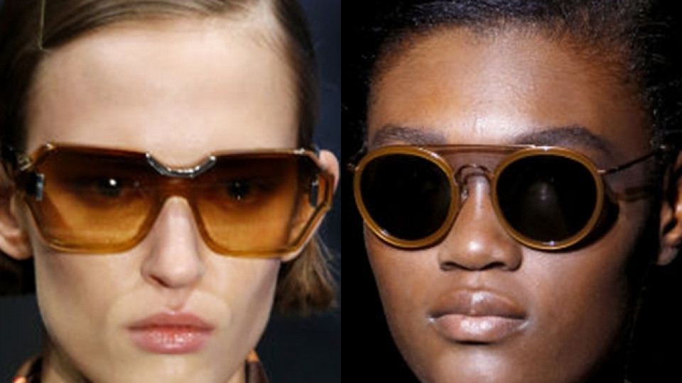 Тенденциите при слънчевите очила за пролет/лято 2017