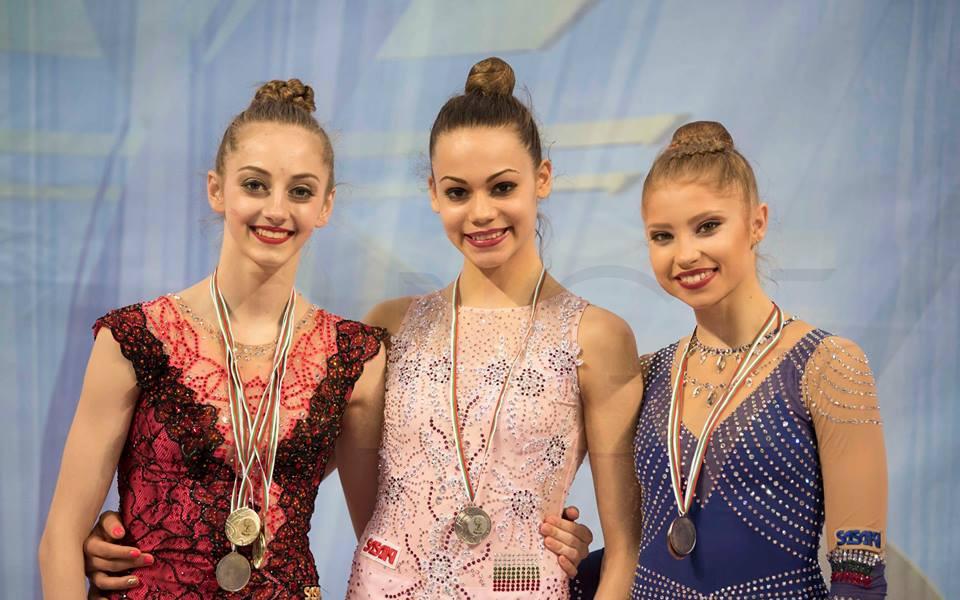 Левски Илиана шампион отборно по художествена гимнастика