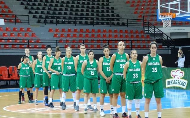Женският национален тим на България по баскетбол източник: facebook.com/macedonianballbasket/