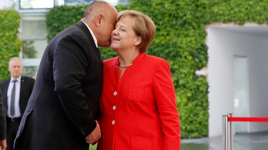 Ангела Меркел: Благодаря на България за опазването на границата с Турция